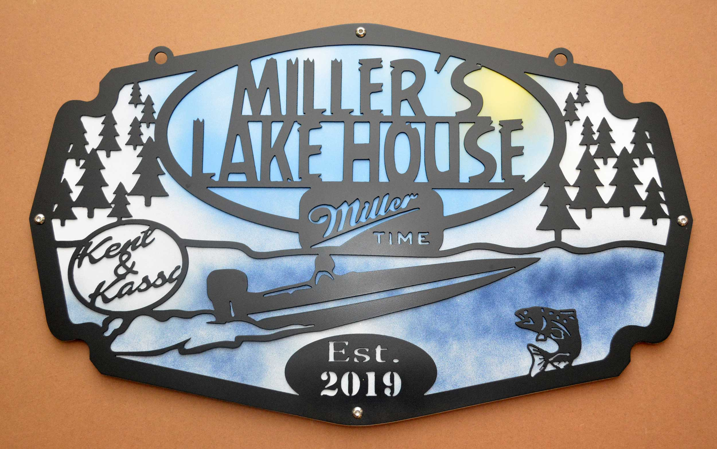 Personalized Metal Signs Custom Metal Signs Radiant Metal Works