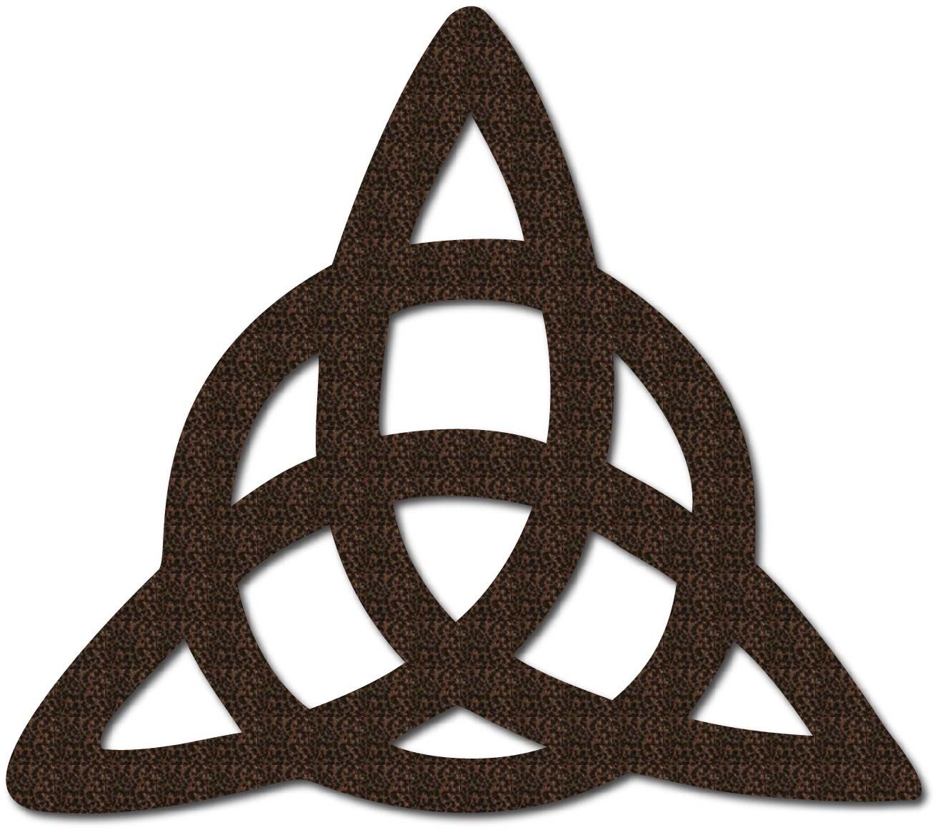 Triquetra Celtic Knot Sign Christian Decor